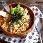 【簡単カフェごはん】美味!鮭炒飯*ガーリックバター醤油味。皮チップス添え