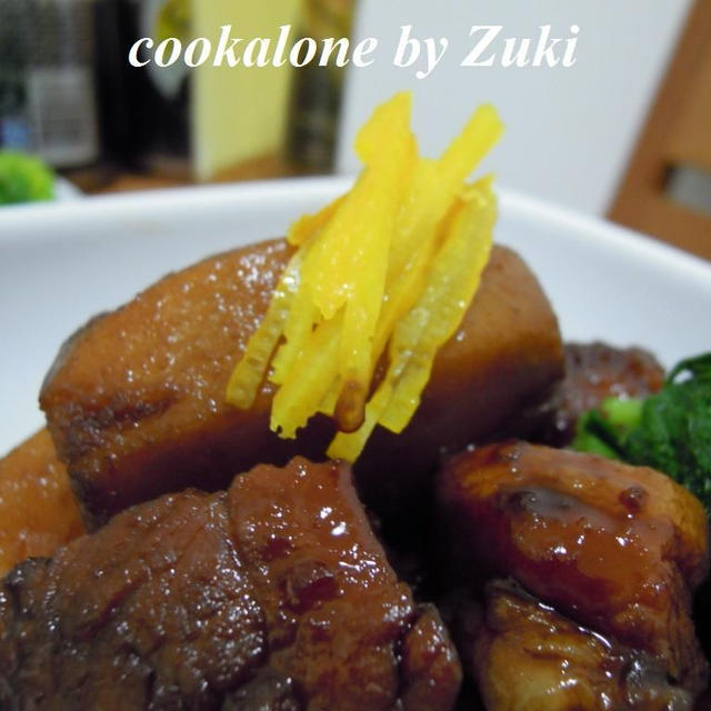 豚バラと里芋の煮物2014