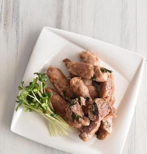 大葉ロールの爽やか豚の生姜焼き