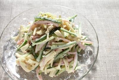 高野豆腐のフレンチサラダ