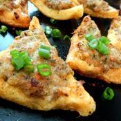豚肉と海老のすり身揚げトースト