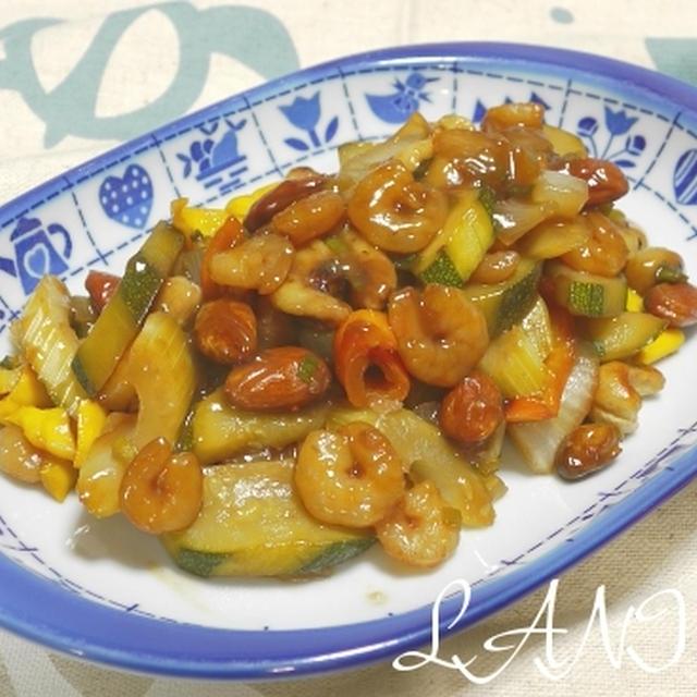 Hawaiian Vegetable Stir-fri with Shrimp