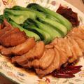 煮豚と青梗菜♪