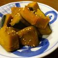 栗かぼちゃの簡単煮もの