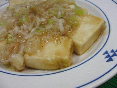 ふんわりしっとりとろ~り高野豆腐の揚げだし風さっと煮 水溶き片栗粉いらず♪
