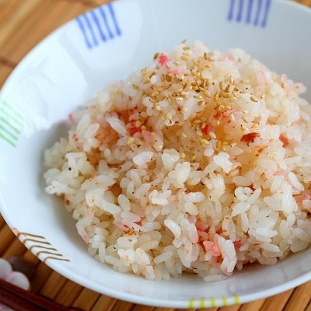 お出汁レシピ【梅とお出汁だけ!の旨味炊き込みごはん】