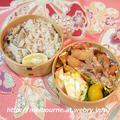 お弁当は さんまときのこの炊き込みご飯 ☆ 週末しごと『常備菜』 by おとめさん
