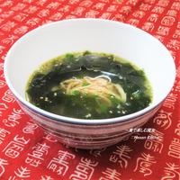 数分+沸騰すれば完成。じっくり煮込んだ味わい。本場韓国風『鶏のワカメスープ』