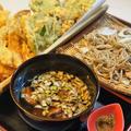 ■年越し蕎麦【鴨南蟹天婦羅蕎麦】/年末の頂き物2軒