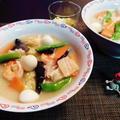 優しいスープの豆乳チャンポン by みなづきさん