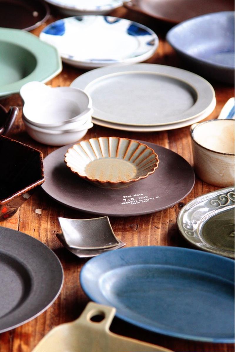 お皿は特にスタジオMさんのものが好きで集めています。色・質感・サイズ、どれもすごく好みで使いやすい!...