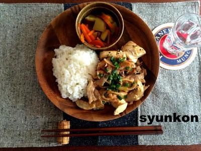 【簡単!!】豆腐と豚肉のマヨしょうゆ炒めと、誕生日のケーキ