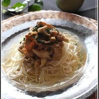 にらダレスタミナ素麺【温泉水99】