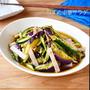 レンジでとろとろ【なすの中華サラダ】#簡単#ヘルシー