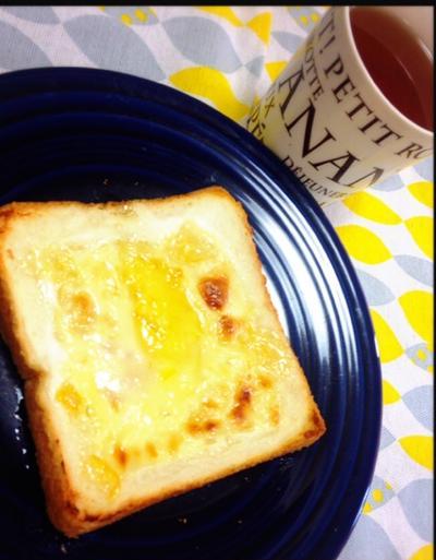 【簡単レシピ】5分で完成❤️簡単なのに絶品チーズケーキトースト