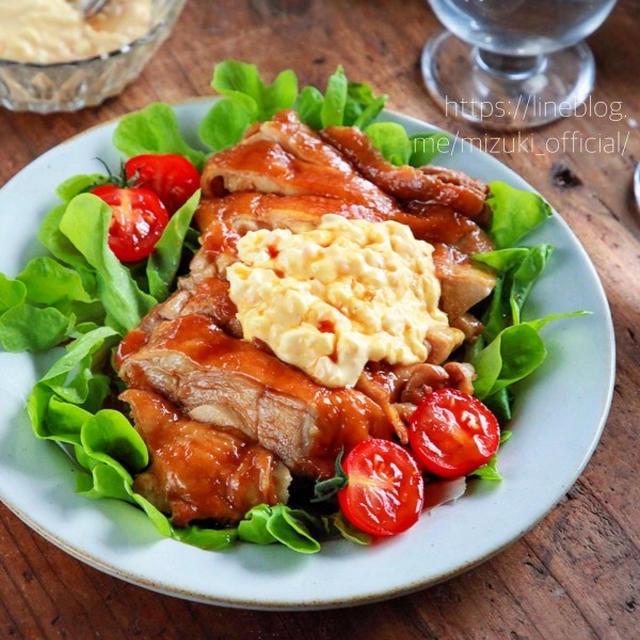 ♡チキン南蛮風鶏肉の甘酢煮♡【#ほったらかし煮#簡単レシピ#タルタルソース#作り置き】