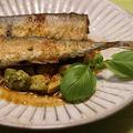 秋刀魚のオイル焼き♡アボカドソース添え by とまとママさん