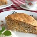 キャロット&ナッツケーキ(卵・白いお砂糖・バター未使用)