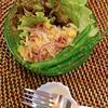 紫玉ねぎと切り干し大根のパクチー風味サラダ