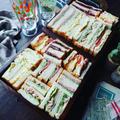 サンドイッチ色々~❤️と、GWのランチにも❤️シンプルミックスサンドイッチ❤️