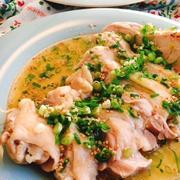 葱油鶏(ソンユーチー)台湾蒸し鶏(動画レシピ)