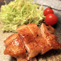 鶏の照り焼き&レンコンの明太子サラダ