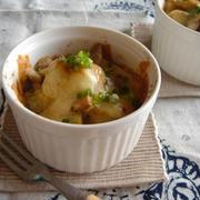 里芋の味噌チーズ焼き。