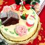 Xmas バターケーキ
