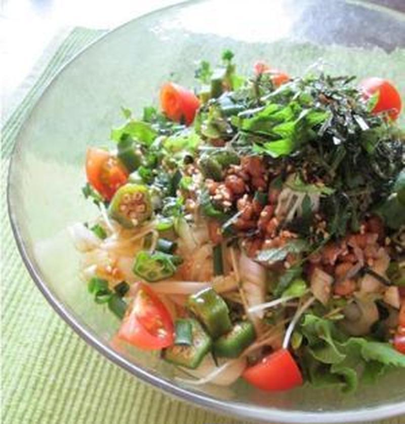 ねばねばパワーで暑さを乗り越える!夏のひんやり麺レシピ