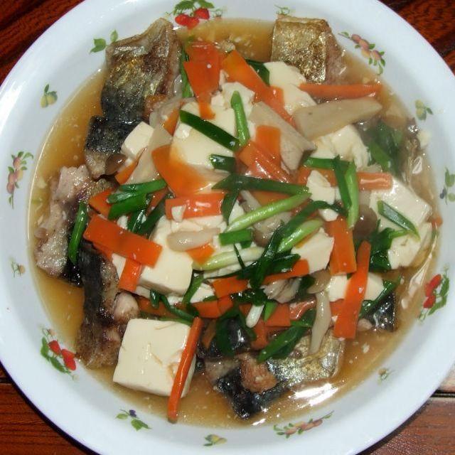 焼き鯖の野菜あんかけ&白菜の明太子炒め