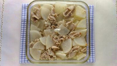 つくりおきにも♪大根と豚肉の豆板醤煮(汁だく)
