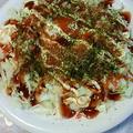 レンジで簡単!  粉ナシお好み焼き by MAD@黄金の麦さん