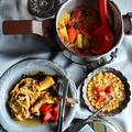圧力鍋で超簡単1度で2品ディナー完成★豪快昆布挟みバックリブ!具だくさん食べるスープレシピもつくよーっ。 by 青山 金魚さん