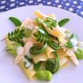 ラザニアを使った春野菜のパスタ