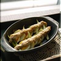 卵と野菜のハーブチーズツナソース焼き