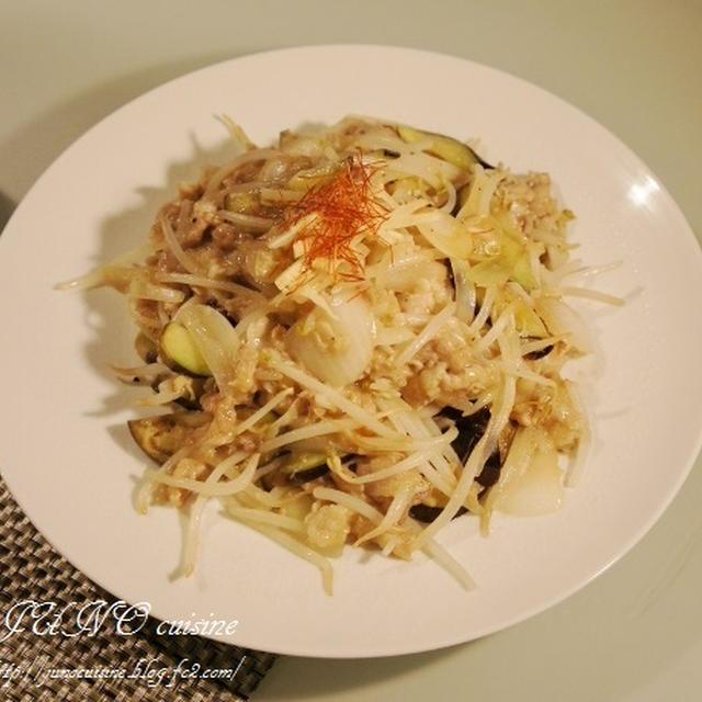 ☆豚肉ともやしの生姜ニンニク炒め☆