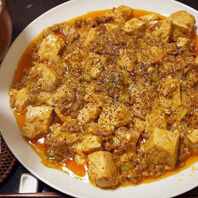 陳建民の素朴なレシピをリスペクト。【マーボー豆腐】