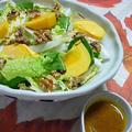くるみと白菜の秋色サラダ