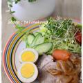 【圧力鍋レシピ】豚かたまり肉の甘辛野菜くたくた煮(煮豚)