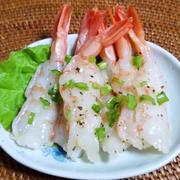 アルゼンチン赤エビの中華風カルパッチョ by 春菜食堂さん