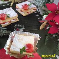 ☆話題の台湾カステラでクリスマスアレンジ♪