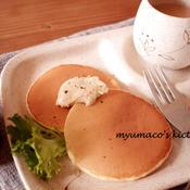 レモンペパーパンケーキ