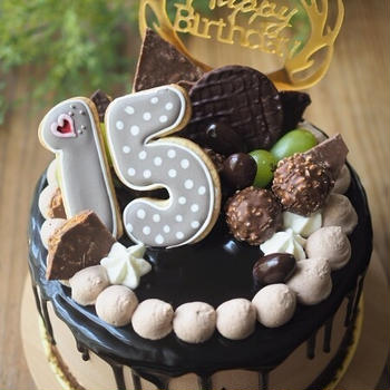 Birthday cake 2020 第二子長男15歳