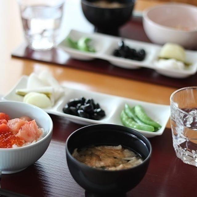1月3日(日)魚卵3種・海鮮丼