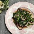 イカと空芯菜の炒め物|最近のワイン