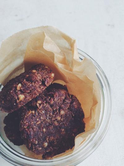 オレンジ&キャラウェイのローカカオクッキー(レシピ)