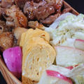 焼鳥弁当と巻き寿司弁当