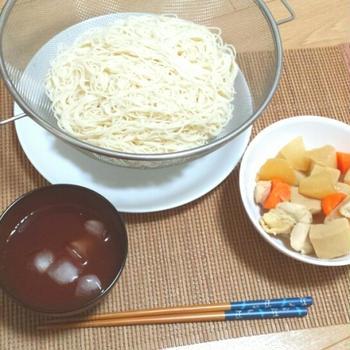 煮物と切干大根サラダの日々