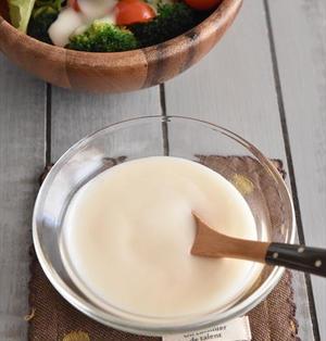 シャカシャカするだけで完成!豆乳で作る♪卵なしマヨネーズ