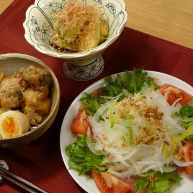 ☆鶏肉と茹で卵の酢っぱ煮